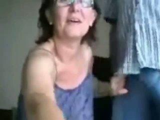 great grandma, fun granny, glasses full