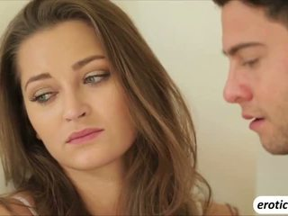 Sexy babe Dani Daniels gets sweetly fucked after telling her man the truth