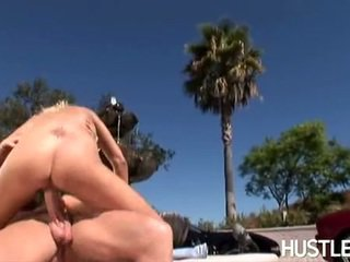 Wet Chick Stacy Thorn Takes No Limits Satisfying Her Man's 10 Pounder Outdoor