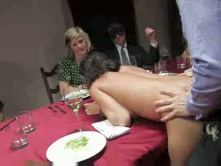 Slavegirl at party Video