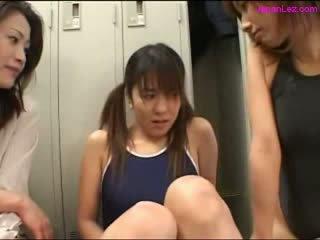 heet schattig, een japanse gepost, plezier lesbiennes actie