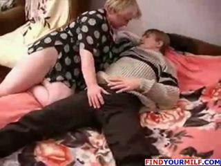 Tłusta rosyjskie dojrzała i chłopak