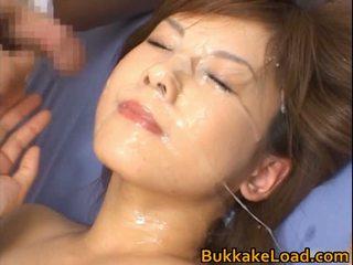Hime Kamiya Oriental Teen In Sexy Bukkake