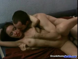 Drunk girl fucking with some guy