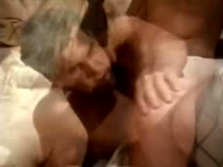 Ass-fuck scene from porn 1970 with playful Blonde
