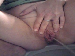 Piss: גדול labia גדול pee 1