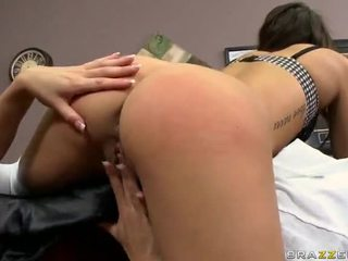 Punishing Riley's Pussy With Proper Education