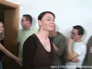 Massacre!! 120 Guys Gangbanged two czech sluts