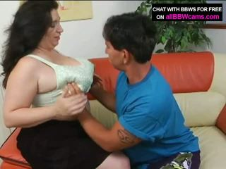 Open Pussy Bbw Gets Cum On Her Fat Tits And Chubby Plump Part 1 Video