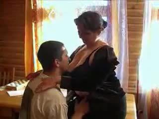 Възрастни бабичка възбуден за на хуй