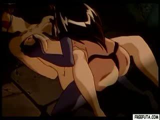 Hentai gaja a partir de atrás por shemale