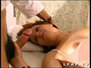 most french scene, redheads, full threesomes
