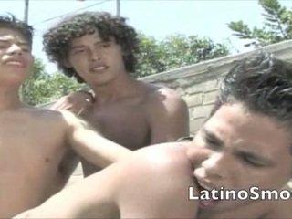 Latino Hardcore Threeway