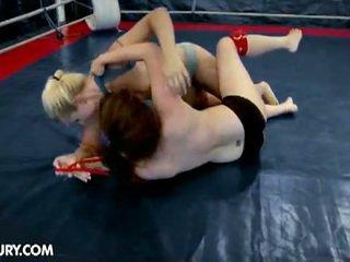 "Nudefightclub presents ""tigerr vs brandy"""