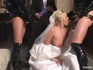 Den bruden double avsugning