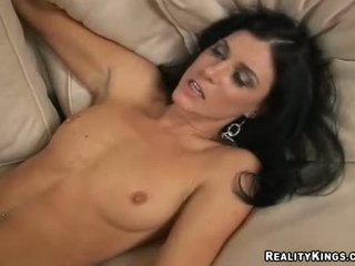 India Summers Getting Team Fucked Hard On Her Snatch At Tthat Guy Couch