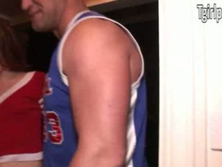 TS Cheerleader Hazel Tucker anal ripped