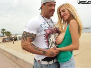 hq grote lul actie, gratis grote borsten, een strand klem