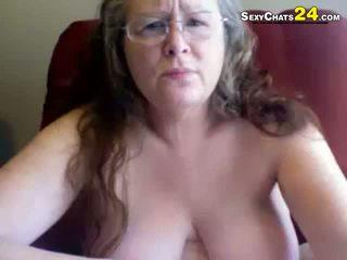 webcam, bbw, sextoy, grandma