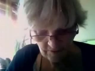 Another Granny On Webcam