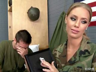 Army Babe Nicole Aniston Fucked In Camp Video