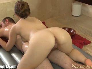 Brandon nash gets nuru massage from angelina mylee
