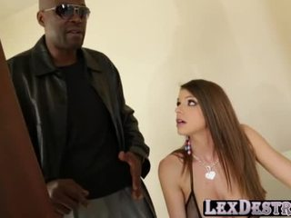 Hot Pornstar Brooklyn Gets Her Pink Pussy Destroyed By Lexington Steele