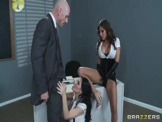 Besar tit sekolah whores madison ivy dan rebeca linares tested