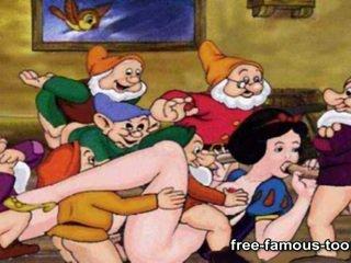 Snowwhite And Dwarfs Sex Parody