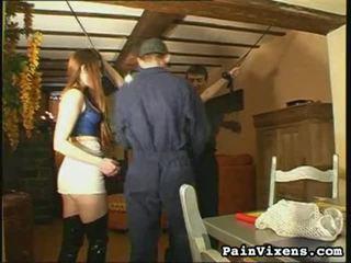alle bdsm, heetste slavernij neuken, meest extreme pijn sex klem