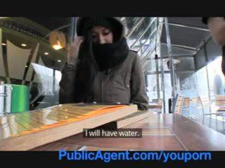 Publicagent homeless 女の子 gets ファック へ 支払い のために ホテル