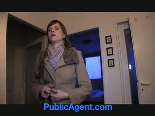 Public agent fucks pregnant marketa