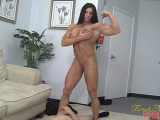 controleren spier film, ideaal vernedering porno, plezier vrouw scène
