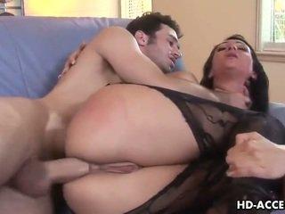brunetta, sesso hardcore, bel culo