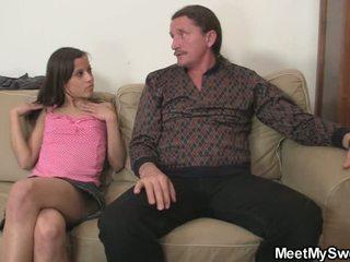 Mine Slut Involves Mine Fossils Inside 3some Screwing