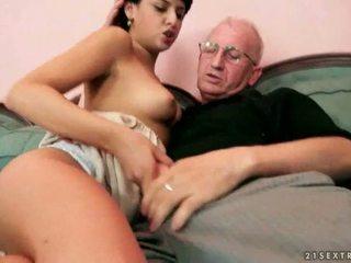 blowjob, संकलन, दादा, oldman