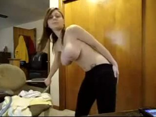 online webcam, groot solo girl, alle bril tube