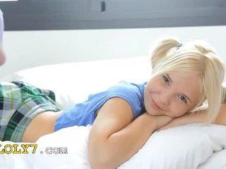 18yo blondie teasing and pose