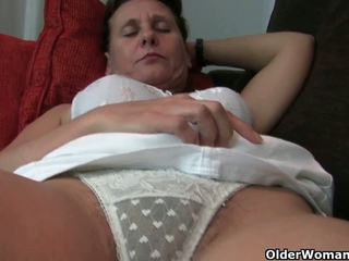 Granny with hairy pussy and armpits needs relief