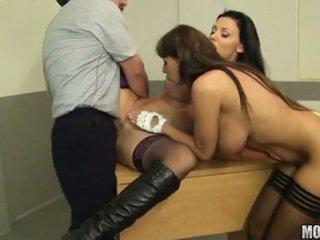 pamatyti briunetė, šviežias hardcore sex, blow darbą