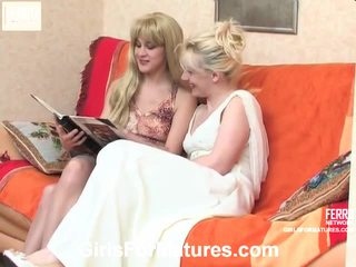 Silvia And Joanna Vivid Lesbian Mature Performance
