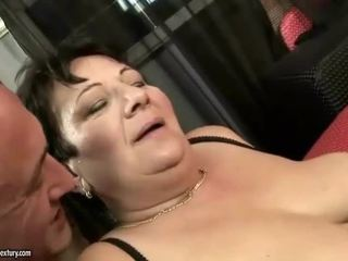Horny mature bitch enjoys hard sex