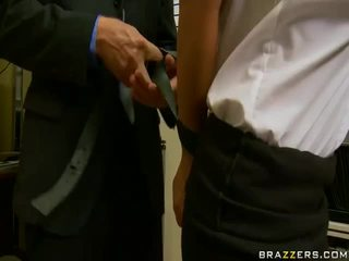 所有 性交性爱 新鲜, 不错 大侦探 查, 眼镜 实