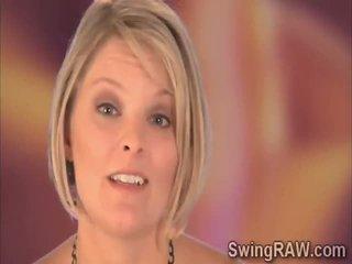 blondinen, swinger