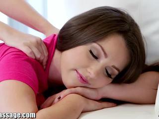 Eksklusiivne kõik tüdruk massaaž teismeline lesbid tussu eating