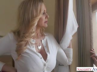 Amazing Step Mom Julia Ann loves sex games