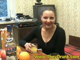 brunette, hardcore sex, drunk