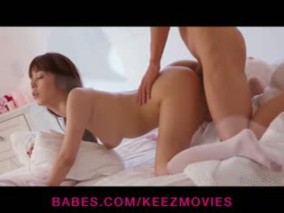 Beautiful Japanese wife gives her man an amazing blowjob