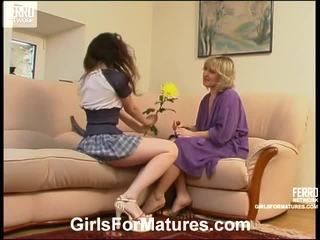 Virginia And Juliet Lezzy Mom Onto Vid...