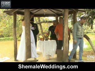 Patricia Bismarck Senna Transsexual Wedding Sex